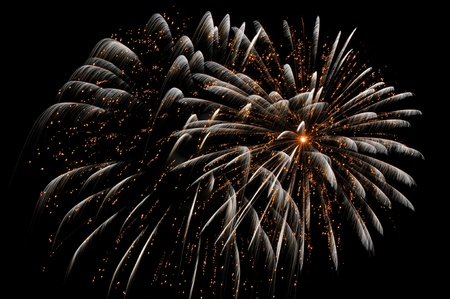 dazzling: Dazzling display of 4th of July fireworks at Salems Derby Wharf