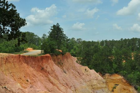 Red Bluffs in Columbia, Mississippi, called