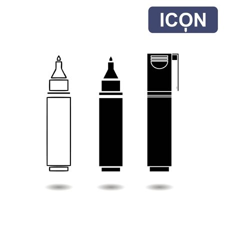markers: Markers icon vector Illustration
