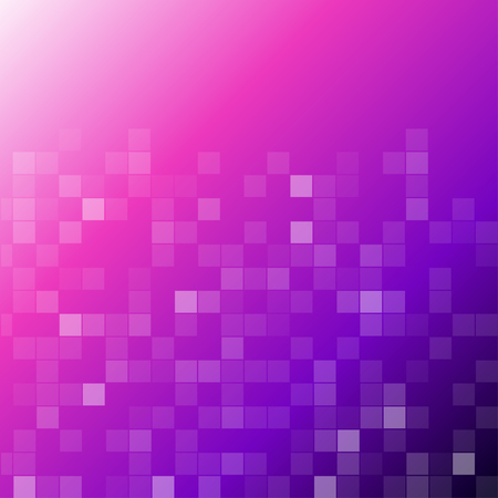 Square box abstract violet gradient bakground vector design Vectores