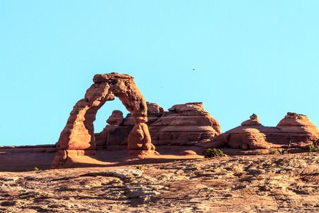 'southwest usa': Southwest USA red rock landscape in Arches National Park near Moab Utah