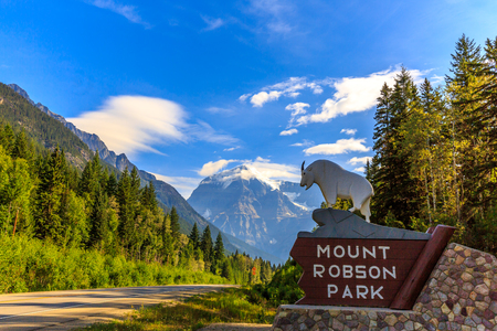 canadian rockies: Mount Robson Provincial Park is a vast provincial park in the Canadian Rockies