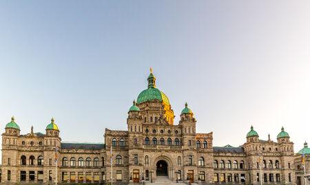 famous industries: Parliament buildings located in Victoria, British Columbia, Canada.