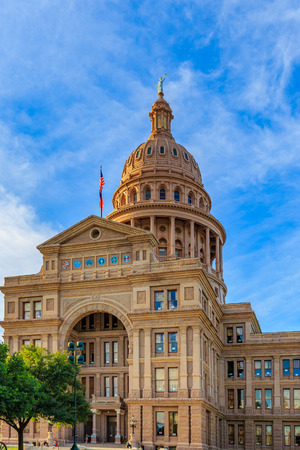 legislature: Austin, Texas, USA - JUNE 5, 2016: The Texas State Capitol, completed in 1888 in Downtown Austin, contains the offices and chambers of the Texas Legislature and the Office of the Governor. Editorial