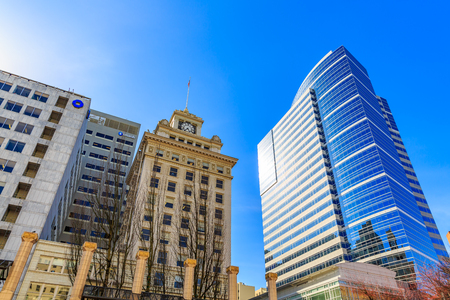Jackson Tower is a 12-story, glazed terra-cotta historic office building in downtown Portland, Oregon.
