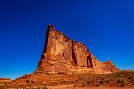 Tower of Babel in Arches National Park, Utah