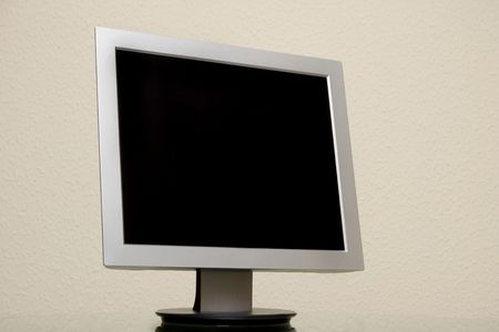 Lcd hd television or computer monitor  Stock Photo - 4971845