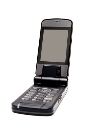 Mobile phone with screen ready for pasting clients photo text or data Stock Photo - 4971838
