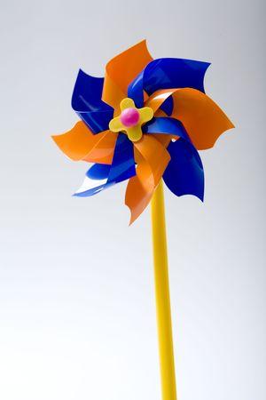energies: wind power toy Stock Photo