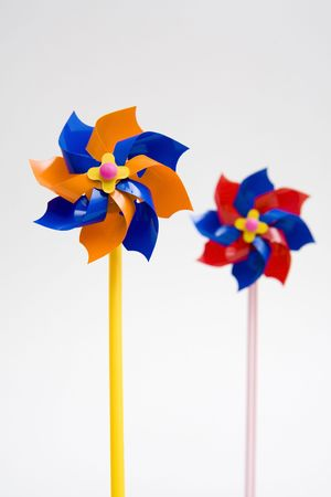 conservational: wind power toy Stock Photo