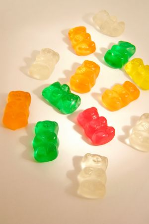 bears gummy candies multi colors for kids backgrounds photo