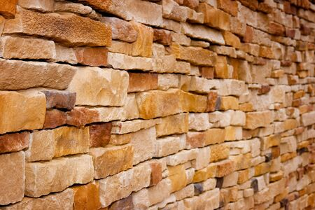 Old handcraft wall background, great for wallpapers, architecture or construction themes