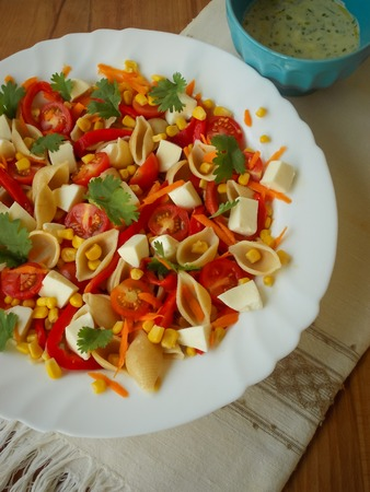 studio shots: fresh mixed salad studio shots, great for food and gastronomy themes.