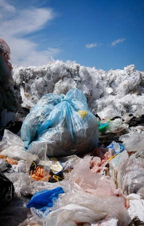 scrapyard: Pile of waste for recycling or safe disposal, Great for recycle and environmental themes. Stock Photo