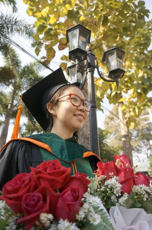 graduated: graduated girl