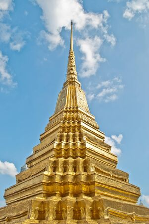 Pagoda in Wat Phra Kaew photo