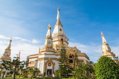 chaimongkol: pagoda chaimongkol in roiet province, thailand