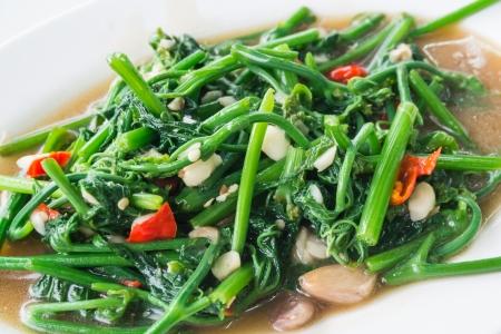 soya bean: Sofrito Sayate Wish Salados Soja, verduras fritas Foto de archivo
