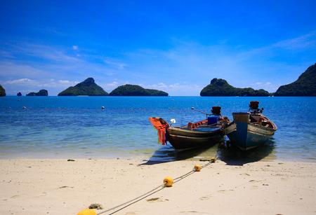 angthong: angthong island thailand Stock Photo
