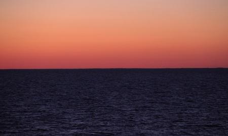 sky line: background, sea, sunset sky line