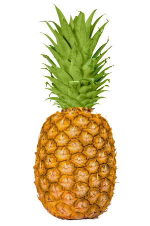 Pineapple knives target ripe  silk isolated white background photo
