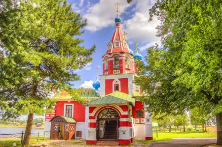 uglich russia:  Russia Church of Tsarevich Dmitry on the Blood in Uglich