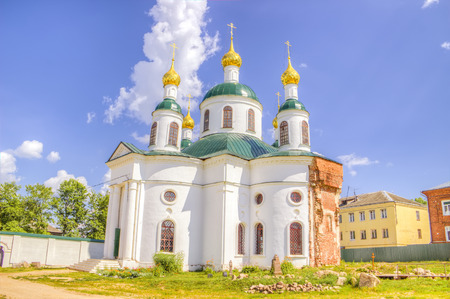 uglich russia:  Russia Epiphany nunnery Fedorovskaya Church Uglich