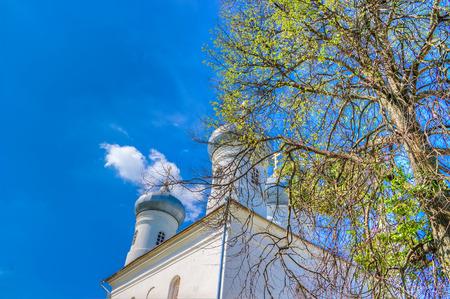 novgorod:  Russia Veliky Novgorod Yuriev monastery