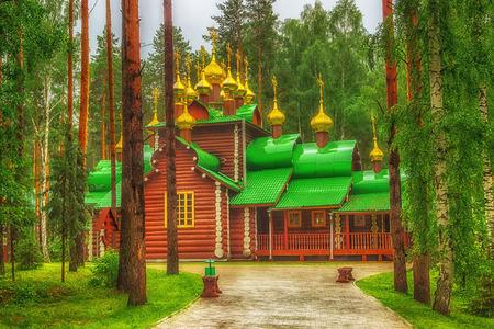kingly: Monastery  Holy Royal Martyrs in the tract Ganina Yama Ekaterinburg Russia.