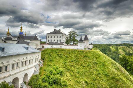 menacing: Tobolsk Kremlin panorama menacing sky hdr Russia Siberia Asia