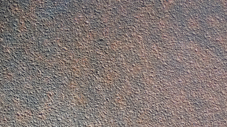 even: Corrosion  iron pellets even layer with scratches and stains