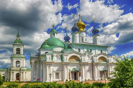 conception: Spaso-Yakovlevsky Dimitriev monastery in Rostov Veliky Russia Cathedral  conception  St Anne and temple Iakov Rostov belfry