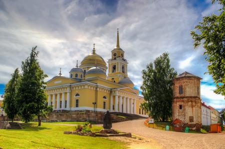 Monastery of Nilo-Stolobenskaya Pustyn Russia Seliger Tver oblast Ostashkov Cathedral  Epiphany