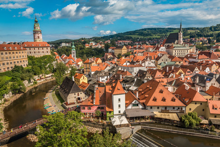 castle: Cesky Kromlov in Czech Republic