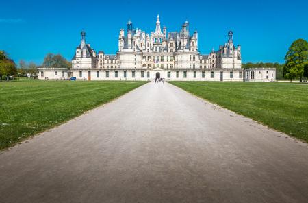 chambord: Chambord Castle in France
