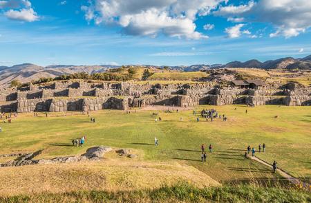 inca ruins: Sacsayhuaman Inca ruins, Peru