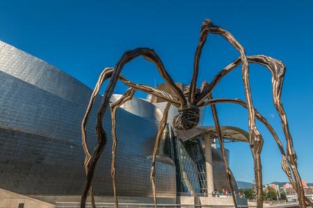 Mamam sculpture in Bilbao museum