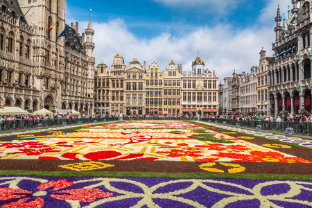 Brussels Flower carpet 2016
