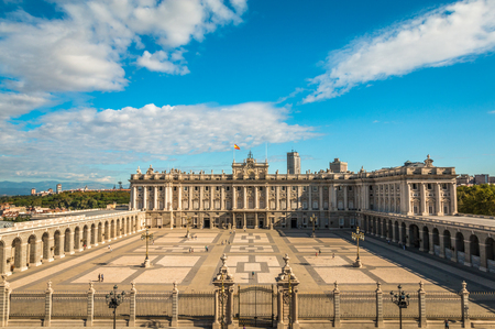 The royal palace in Madrid Editorial