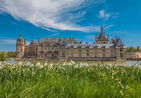 chantilly: Chateau Chantilly in France