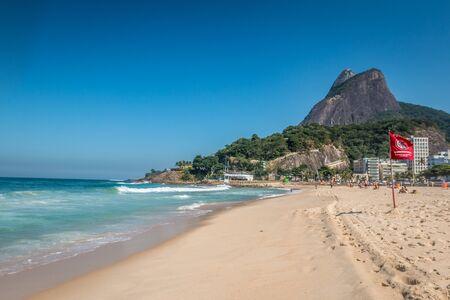 Nice view of Ipanema Beach in Rio de Janeiro