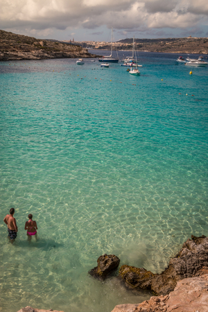 blue lagoon: Blue Lagoon in Malta