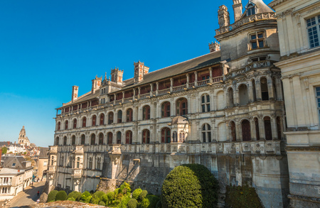 Chateau Blois in France
