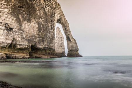 normandy: Etretat in Normandy France