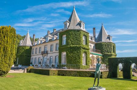 La Hulpe palace in Belgium
