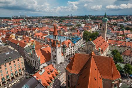 munich: View of Munich Germany