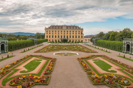Schonbrunn Palace in Vienna Austria