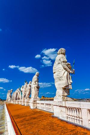 Statues in Vatican city