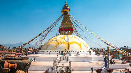 Boudanath Temple in Kathmandu
