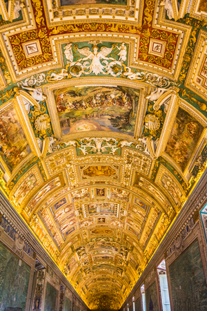 heritage protection: Inside Vatican Museum